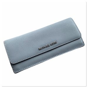 Michael Kors Leather Foldover Wallet